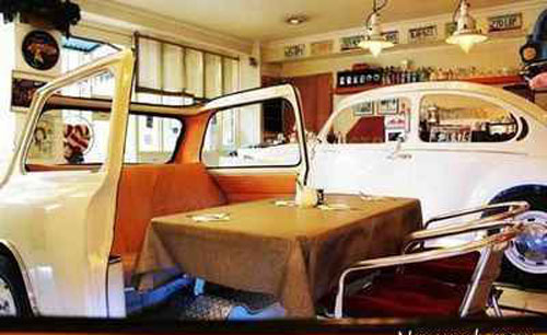 عشق ماشین ها عاشق این رستوران می شوند + عکس