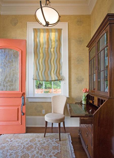 تاثیر رنگ نارنجی در دکوراسیون داخلی