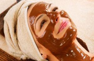ماسک زیبایی صورت با شکلات