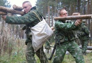 تنبیه سربازان به سبک ارتش روسیه (عکس)