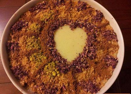 تزیینات زیبای فرنی و شیربرنج برای ماه رمضان