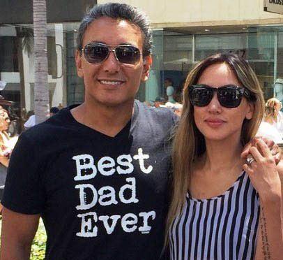 عکس های شادمهر عقیلی، همسر و دخترش