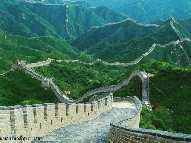 تصاویر جالب از عجایب هفت گانه دنیا