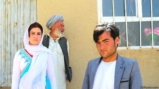 لیلی و مجنون این بار در افغانستان (+عکس)