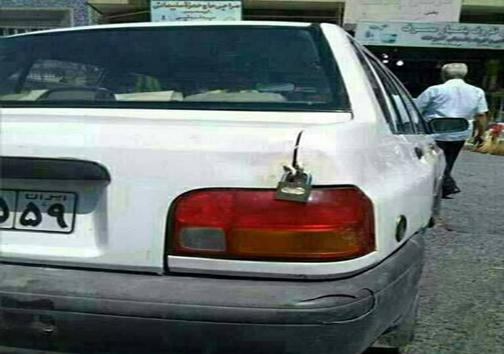 دو عکس طنز از دو ماشین باز ایرانی (عکس)