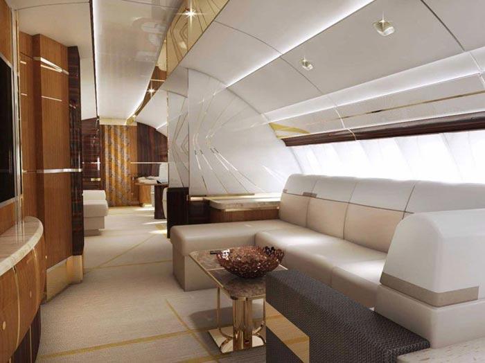 این هواپیما یک هتل لوکس است + تصاویر