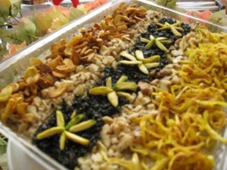 تزئینات زیبای حلیم بادمجان برای ماه مبارک رمضان