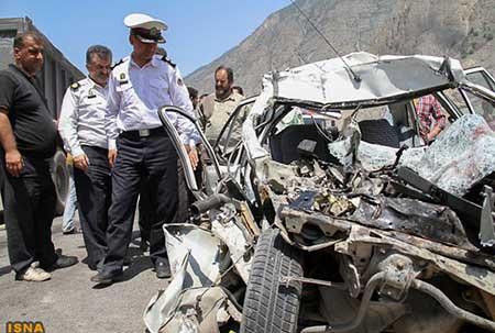 سقوط مرگبار عروس و فامیلش به دره (عکس)