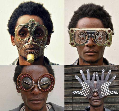 عینک های خلاقانه و زیبا که از جنس زباله هستند + عکس