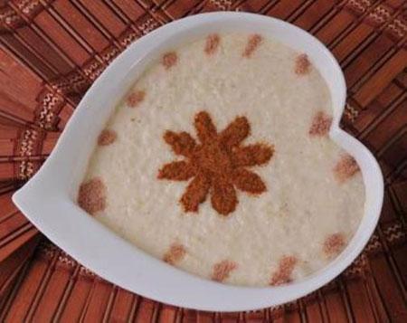 آموزش تزیین فرنی و شیربرنج سفره افطار