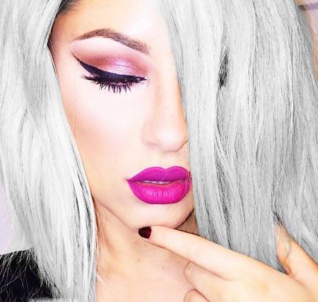 مدل آرایش جذاب چشم 2016