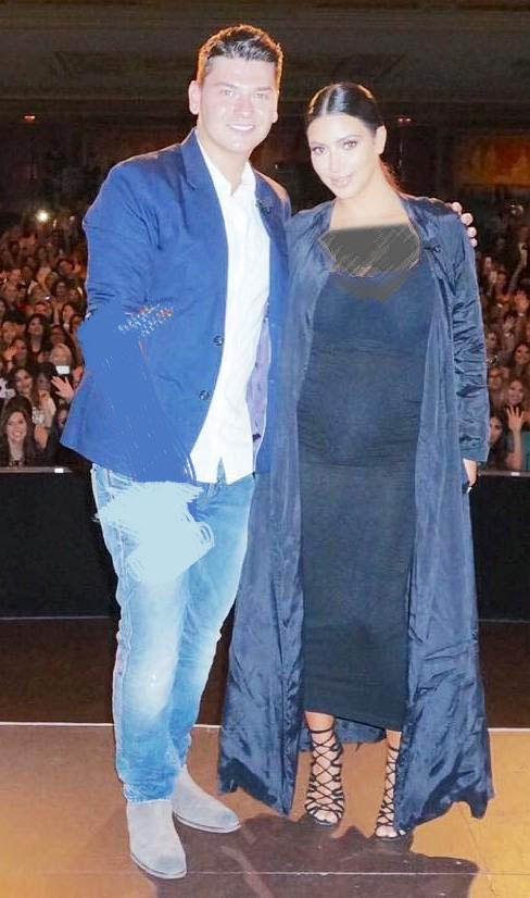 کیم کارداشیان دوباره حامله است + عکس