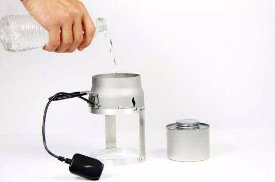 یک فناوری برای شارژ کردن موبایل با شمع