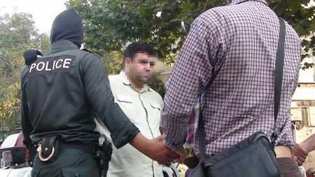 چرخاندن یک متهم در خیابان های پایتخت