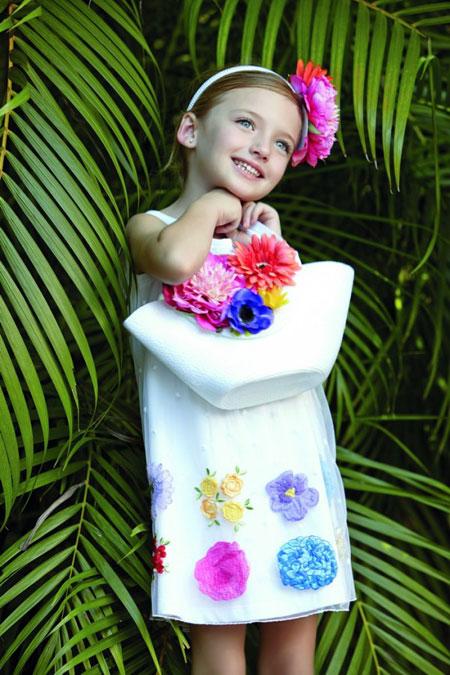 مدل لباس متفاوت و تابستانه دخترانه برند Monnalisa