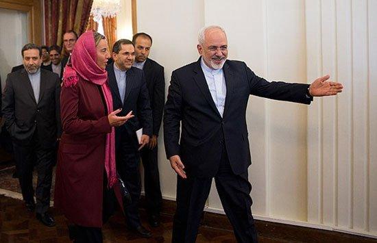 عکس های فدریکا موگرینی با حجاب کامل در ایران