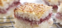 آموزش شیرینی نارگیلی ساندویچی