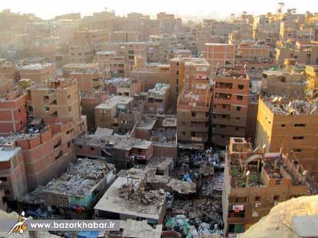 بزرگ ترین حلبی آبادهای جهان + تصاویر
