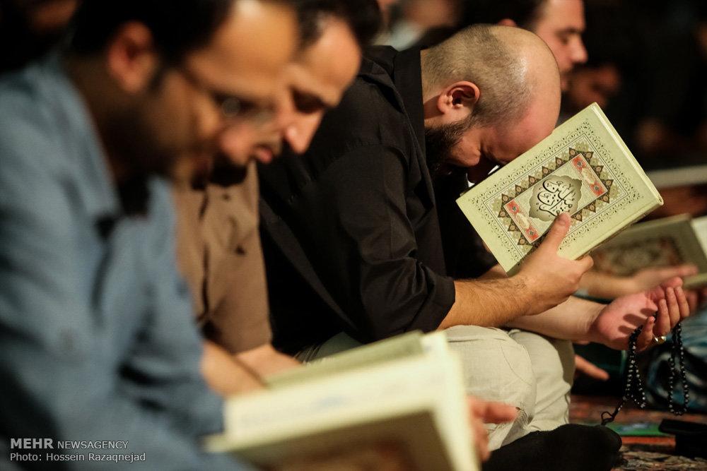 تصاویری از مراسم احیای شب نوزدهم ماه رمضان
