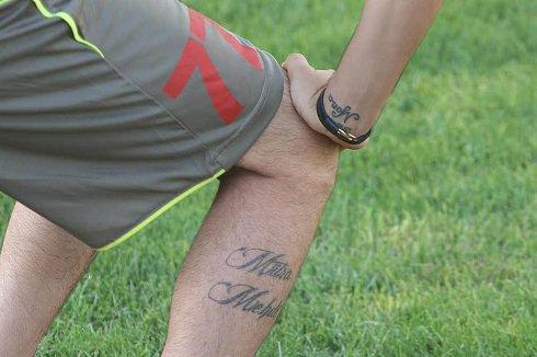خالکوبی های جالب روی بدن بازیکن جدید پرسپولیس