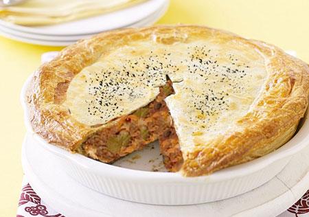 آموزش طرز تهیه باقلوای گوشت برای افطار