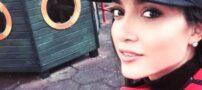 عکس خاطره اسدی و حیوان خانگی اش