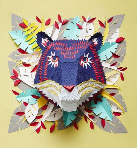 ماسک های حیوانی که با خلاقیت و هنر ساخته شده اند
