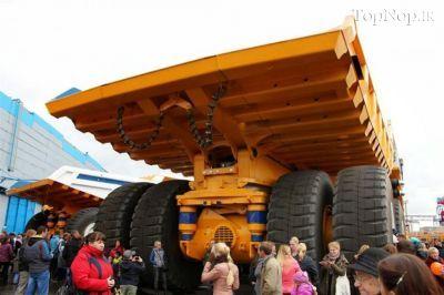 عکس هایی از بزرگترین کامیون جهان