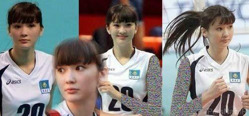 زیباترین بانوی والیبالیست آسیا (عکس)