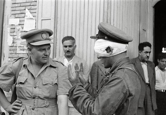 صحنه هایی از اشغال قزوین به دست متفقین (عکس تاریخی )