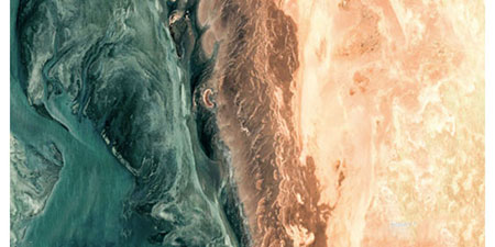 زیباترین عکس های هوایی گرفته شده توسط گوگل ارث