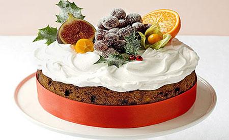 آموزش کیک میوه ای کلاسیک