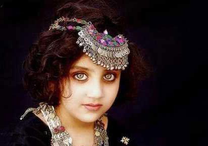 چشمان زیبای این دختر افغانی + عکس