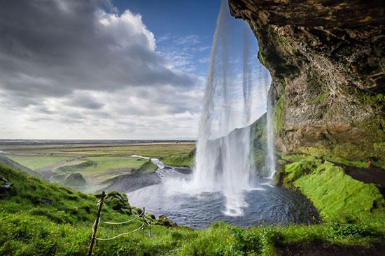 طبیعت فوق العاده زیبا و رویایی ایسلند