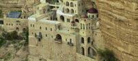 صومعه ای تاریخی دره قلت در بیت المقدس + تصاویر