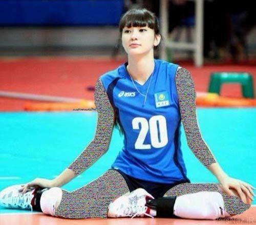 زیباترین و جذاب ترین دختر ورزشکار آسیا + عکس