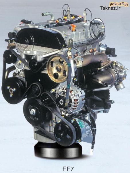 قیمت موتور کامل ef7