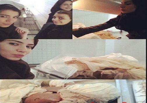 عکس های ترسناک دانشجویان پزشکی با اعضای بدن انسان