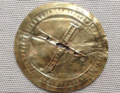 کشف دیسک 5000 ساله در استون هنچ + عکس