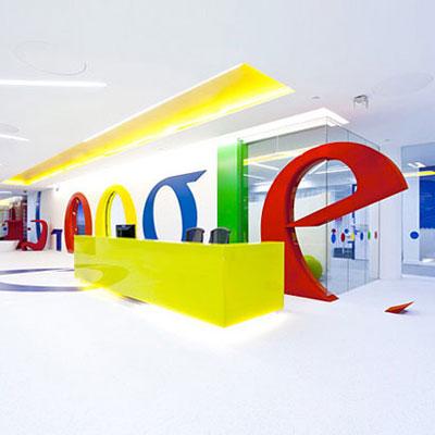 تصاویری از جدیدترین طراحی دفتر کار شرکت گوگل