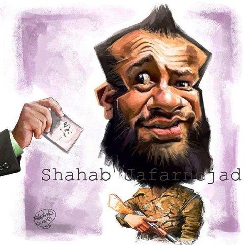امیر تتلو در راه مجوز گرفتن (کاریکاتور)