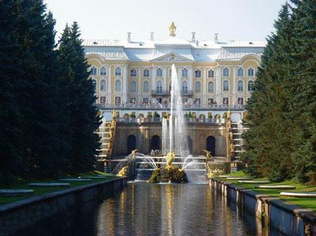 کاخ بی نظیر Peterhof Palace در روسیه + عکس