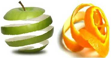 کودکان میوه را با پوست بخورند یا بدون پوست؟