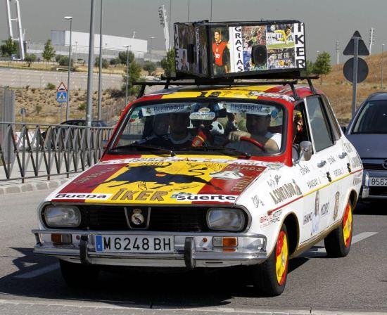 نقاشی های جالب روی ماشین از دروازه بان اسطوره رئال مادرید