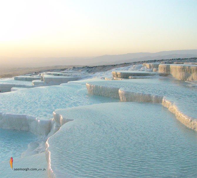 عکس هایی دیدنی از یک مکان شگفت انگیز در ترکیه