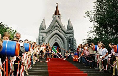 برگزاری مراسم ازدواج در کلیساهای بادی (عکس)