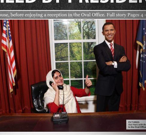 من و اوباما همین الان یهویی!