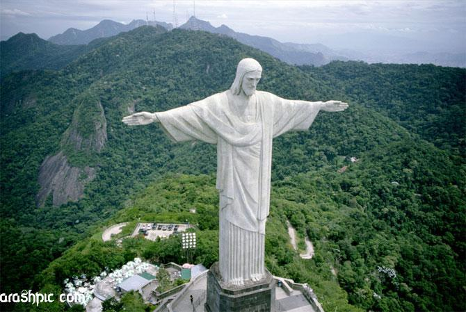 تصاویر جالب از عجایب هفتگانه دنیا