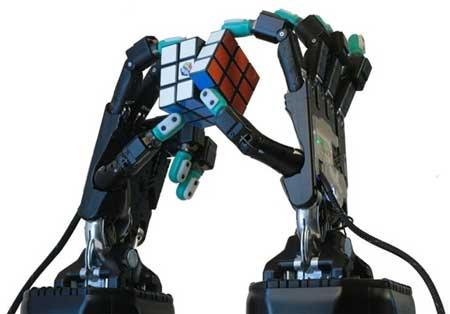ساخت دست رباتیک دارای حس لامسه
