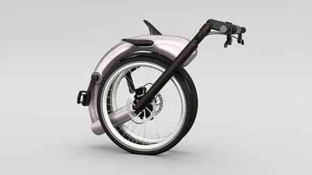 ساخت دوچرخه ای تاشو با قابلیت اتصال به اینترنت